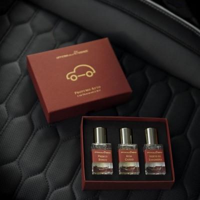 Automobilio kvepalų rinkinys moterims 3x15