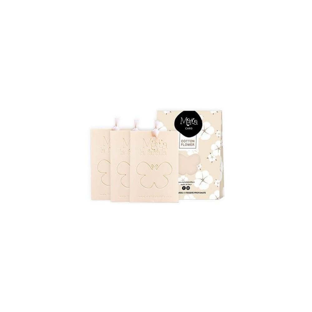 Aromatinės kortelės namams Cotton Flower 3 vnt