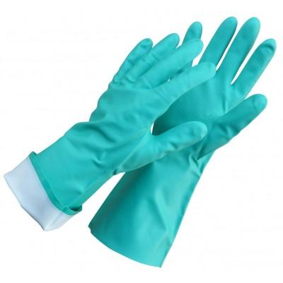 Guminės nitrilinės antibakterinė pirštinės