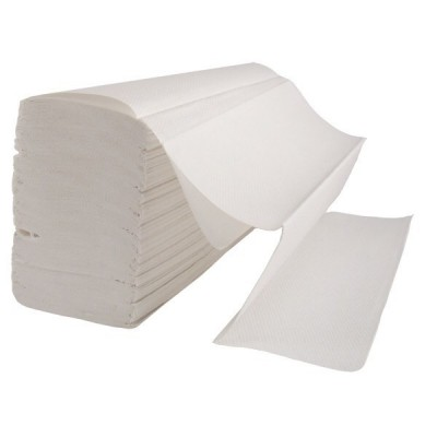 Popierinės servetėlės rankoms baltos