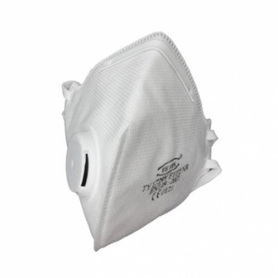 Respiratorius FFP2 su vožtuvėliu 10vnt