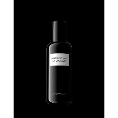 """Žvilgesio suteikiantis šampūnas dažytiems plaukams """"No. 3 La Couleur"""" 50 ml"""