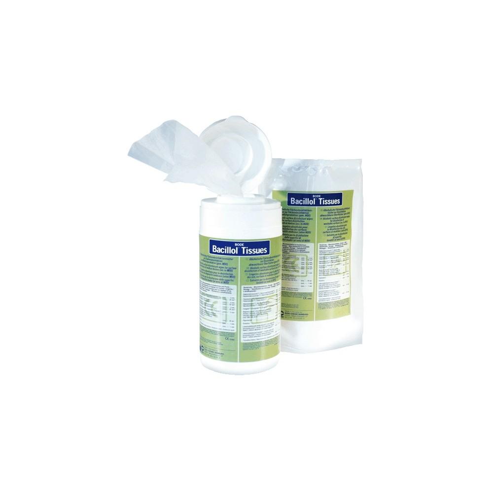 Greitai paviršių ir rankų dezinfekcijai Bacillol Tissues