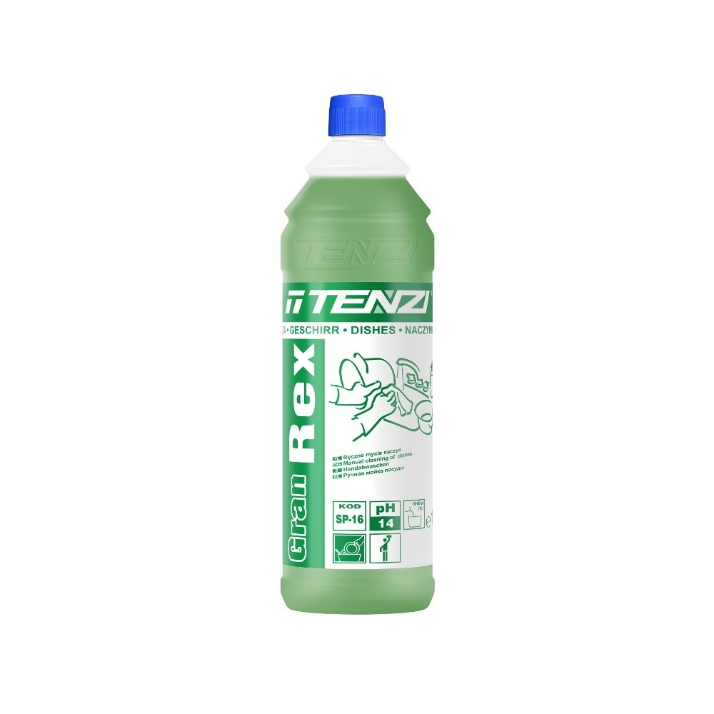 Koncentruotas efektyvus indų ploviklis Gran Rex Tenzi
