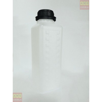 Plastikinis butelis kvadratinis