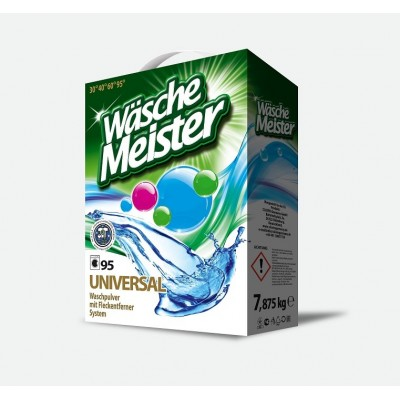 Skalbimo milteliai Wäsche Meister Universal 7,875 kg