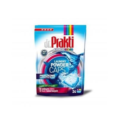 dr.PRAKTI color koncentruotos skalbimo miltelių kapsulės 24 vnt