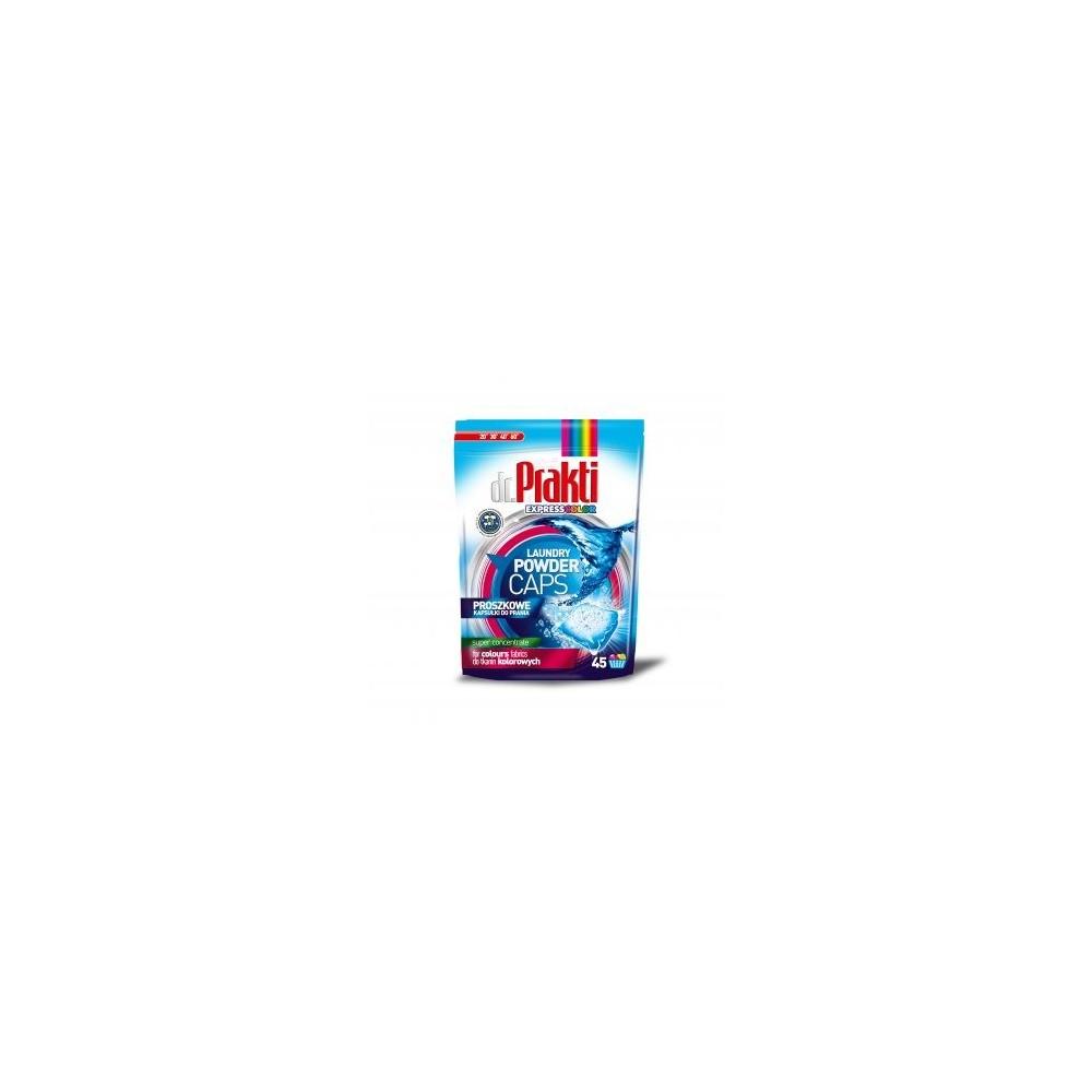 dr.PRAKTI color koncentruotos skalbimo miltelių kapsulės 45 vnt