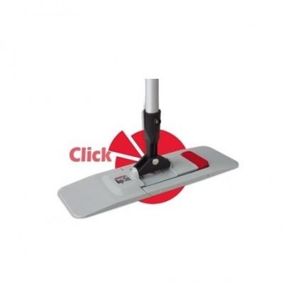 Grindų šluostės laikiklis ECO CLICK su kotu 50 cm