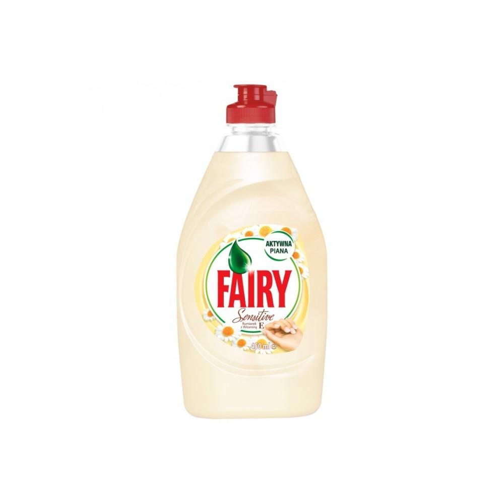 Indų ploviklis Fairy Sensitive Chamomile & Vit E 450 ml
