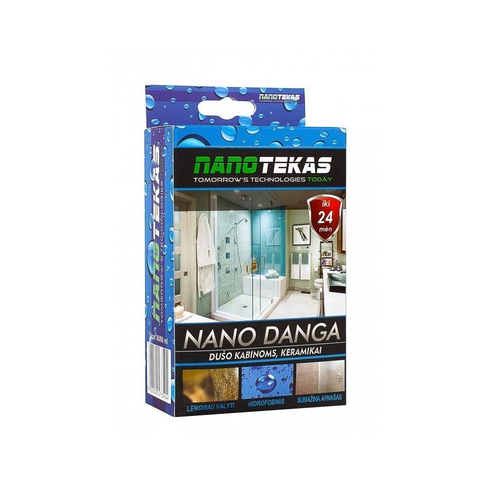 Nano dušo kabinos apsauga, keramokos apsauga
